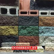 Блоки для забора демлер рваный камень