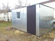 Бытовка утепленная,  металлическая с доставкой в Минск