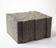 Керамзитобетонные блоки строит-е шириной 400 мм